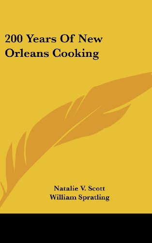 9781436687720: 200 Years of New Orleans Cooking