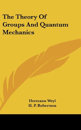 9781436687867: The Theory of Groups and Quantum Mechanics