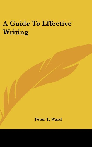 9781436689496: A Guide To Effective Writing