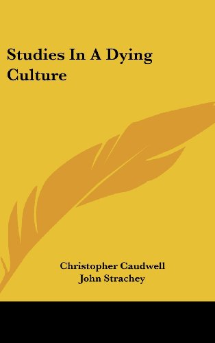 9781436697583: Studies In A Dying Culture