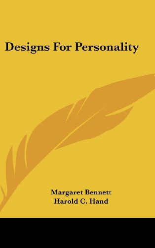 9781436698047: Designs For Personality