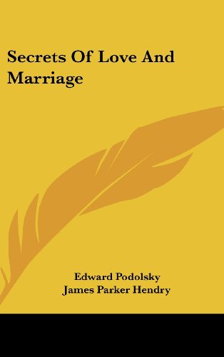 9781436698337: Secrets Of Love And Marriage
