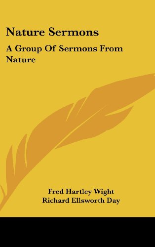 9781436700597: Nature Sermons: A Group Of Sermons From Nature