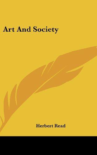 9781436707725: Art And Society