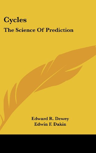 9781436710213: Cycles: The Science Of Prediction