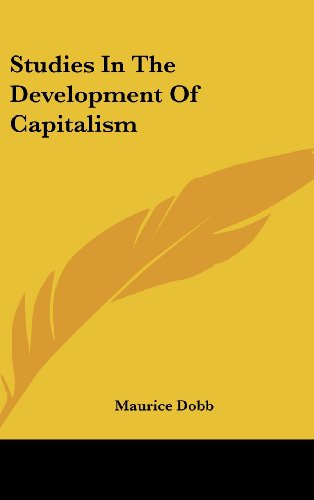 9781436710220: Studies in the Development of Capitalism