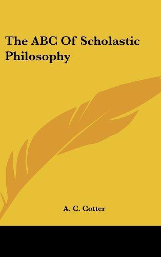 9781436711418: The ABC Of Scholastic Philosophy