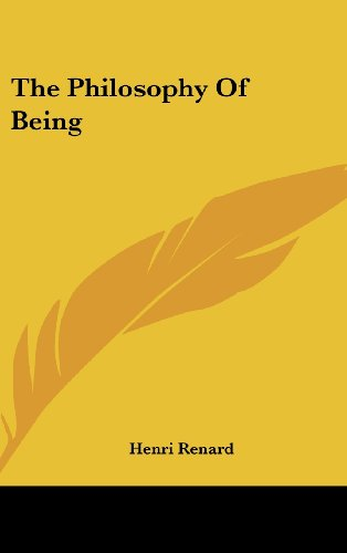 9781436711869: The Philosophy of Being