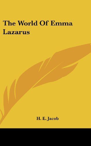9781436714938: The World Of Emma Lazarus