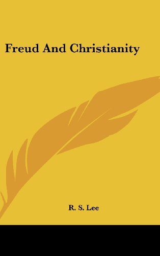 9781436714952: Freud And Christianity