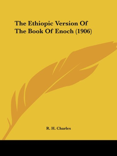 9781436777643: The Ethiopic Version Of The Book Of Enoch (1906)