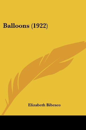 9781436785211: Balloons (1922)