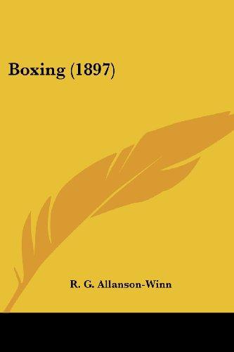 9781436791731: Boxing (1897)