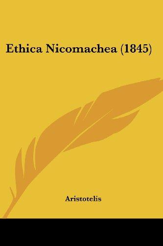 9781436839396: Ethica Nicomachea (1845)