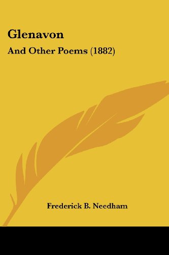 9781436859363: Glenavon: And Other Poems (1882)
