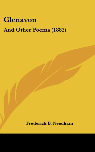 9781436909600: Glenavon: And Other Poems (1882)