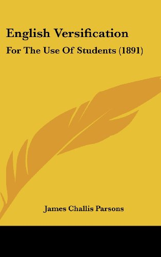 9781436912402: English Versification: For The Use Of Students (1891)