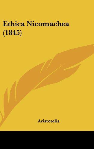 9781436928083: Ethica Nicomachea (1845)