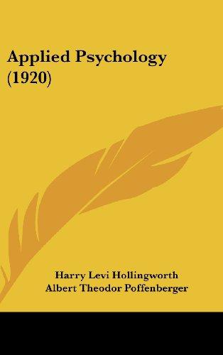 9781436983570: Applied Psychology (1920)