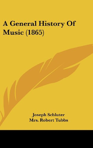 9781436984614: A General History Of Music (1865)