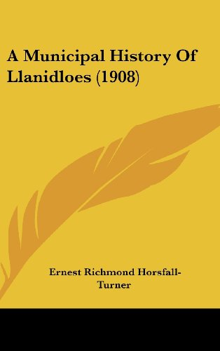 9781436987851: A Municipal History Of Llanidloes (1908)