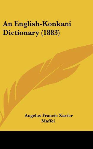 9781437018073: An English-Konkani Dictionary (1883)
