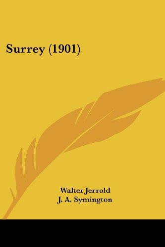 9781437121100: Surrey (1901)