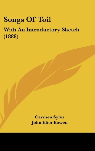 9781437186444: Songs of Toil: With an Introductory Sketch (1888)