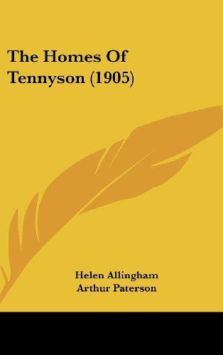 9781437200058: The Homes Of Tennyson (1905)