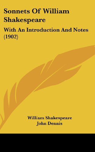 9781437205282: Sonnets Of William Shakespeare: With An Introduction And Notes (1902)