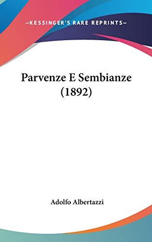 9781437218008: Parvenze E Sembianze (1892)