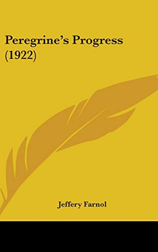 9781437271744: Peregrine's Progress (1922)