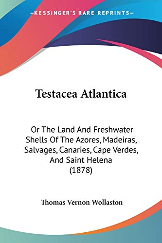 9781437335699: Testacea Atlantica: Or the Land and Freshwater Shells of the Azores, Madeiras, Salvages, Canaries, Cape Verdes, and Saint Helena (1878)