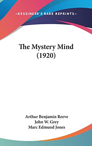 9781437409277: The Mystery Mind (1920)