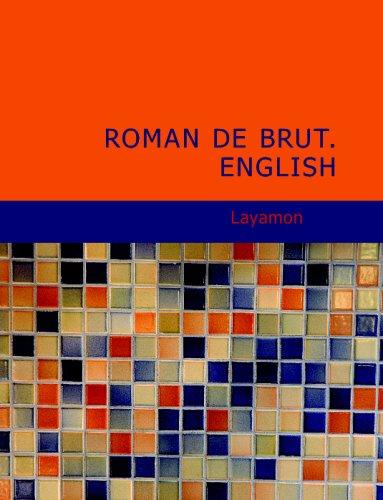 9781437503739: Roman de Brut. English
