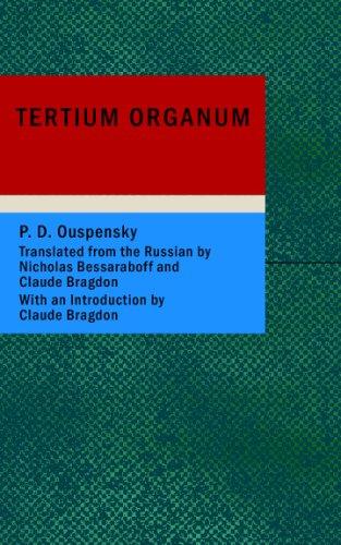 Tertium Organum: D. Ouspensky, P.