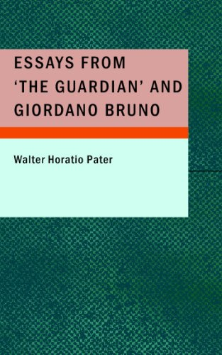 9781437517316: Essays from 'The Guardian' and Giordano Bruno