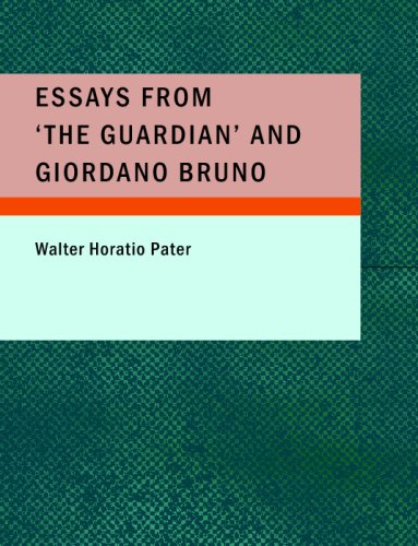 9781437517323: Essays from 'The Guardian' and Giordano Bruno