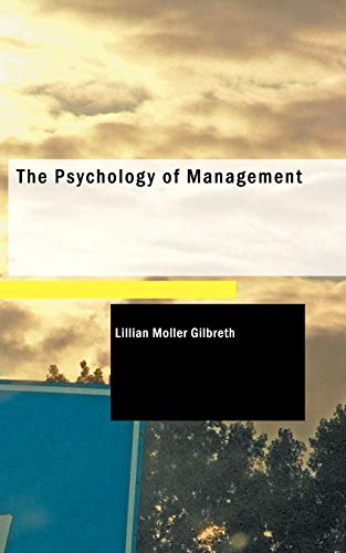 9781437520439: The Psychology of Management