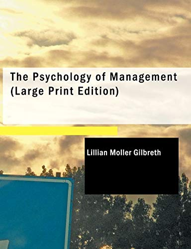 9781437522181: The Psychology of Management