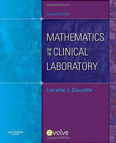 9781437701791: Mathematics for the Clinical Laboratory, 2e