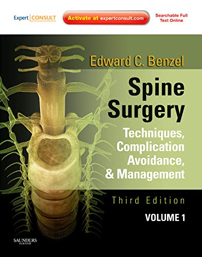 9781437705874: Spine Surgery, 2-Volume Set: Techniques, Complication Avoidance and Management (Expert Consult - Online and Print), 3e