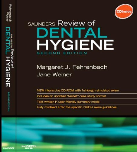 Saunders Review of Dental Hygiene - Text and E-Book Package, 2e: Fehrenbach, Margaret J.; Weiner, ...