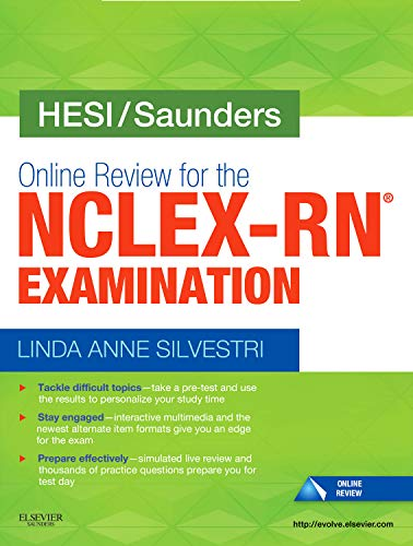 9781437706949: HESI/Saunders Online Review for the NCLEX-RN Examination (2 Year) (Access Card)