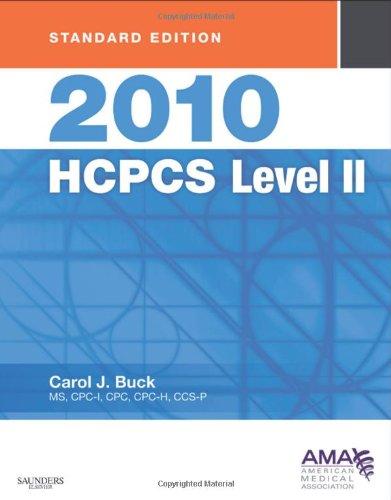 9781437708189: 2010 HCPCS Level II Standard Edition (Saunders HCPCS Level II)