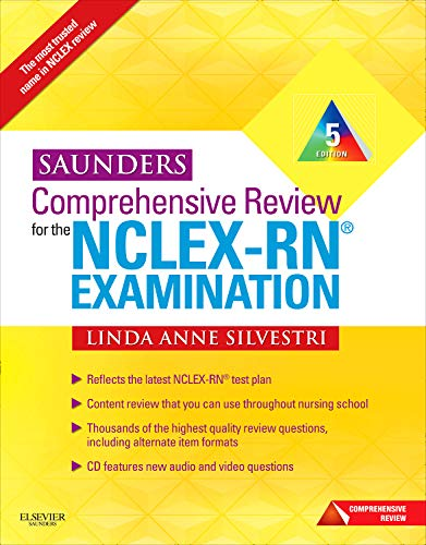 9781437708257: Saunders Comprehensive Review for the NCLEX-RN Examination, 5th Edition