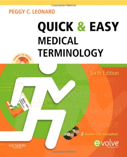 9781437708387: Quick & Easy Medical Terminology, 6e (Quick & Easy Medical Terminology (W/CD))