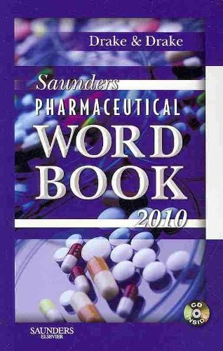 9781437709933: Saunders Pharmaceutical Word Book 2010 - Book and CD-ROM Package, 1e