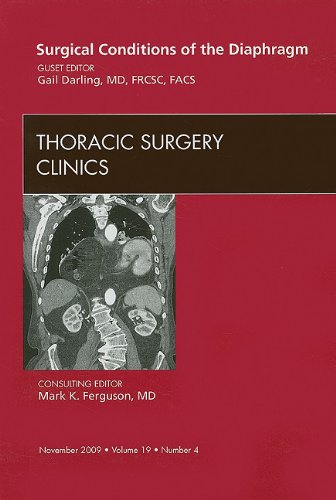 9781437713923: Surgical Conditions of the Diaphragm, An Issue of Thoracic Surgery Clinics (The Clinics: Surgery)