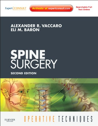 9781437715200: Operative Techniques: Spine Surgery: Expert Consult - Online and Print, 2e